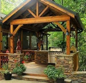 Rustic Outdoor Kitchen Ideas by Smart And Delightful Outdoor Kitchen Ideas To Try Nove Home