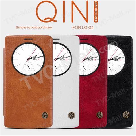 Nillkin Qin Series Circle View Leather Lg G4 2003 nillkin qin series leather view window for lg g4