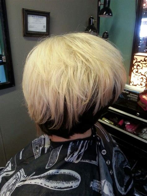 reverse wedge haircut pictures 1000 ideas about stacked inverted bob on pinterest bob