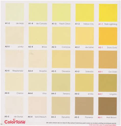 Merk Cat Tembok Dan Warnanya contoh kartu warna cat tembok colortone