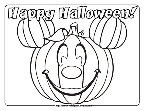 mickey halloween coloring page disney coloring pages and sheets for kids