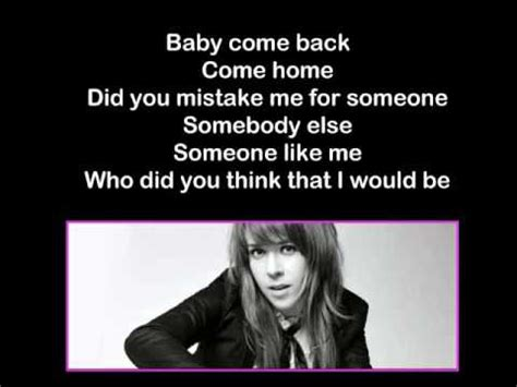 baby come back songtext serena lyrics