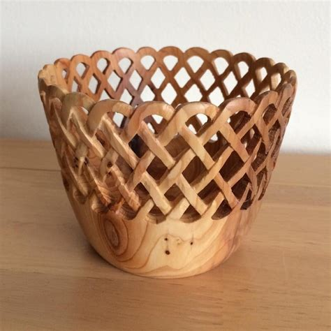 Basket Weave Vase by Basket Weave Vase Martin Pigott Woodturning