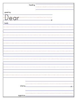 friendly letter template and exle friendly letter