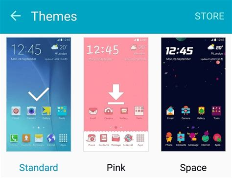 Changing Themes On S6 | how to change android theme