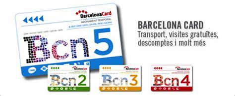 barcelona pass barcelona public transport tickets