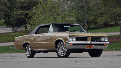 pontiac gto 1964 1964 pontiac gto convertible f136 1 indy 2017