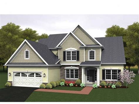 Eplans Colonial House Plan Two Story Great Room 2256 | eplans colonial house plan two story great room 2256