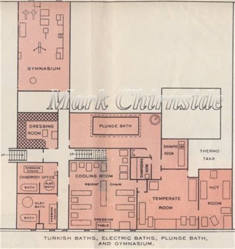 Interior Plans For Home mark chirnside s reception room olympic titanic