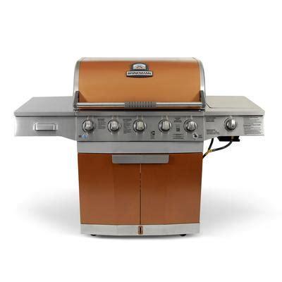 79 000 btu 5 burner propane gas grill with side burner rotisserie burner brinkmann medallion 5 burner 50 000 btu gas grill barbecue home depot canada toronto