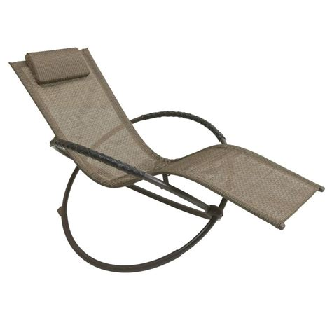 orbit chaise lounge rst brands orbital sling patio lounger chaise in green op