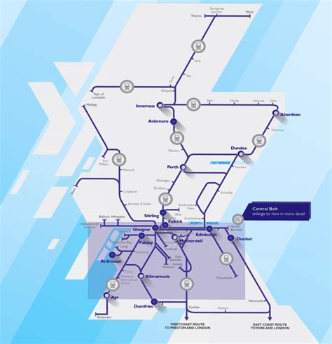 scotrail map maps update 600916 travel in scotland map