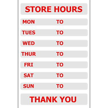 image gallery store hours