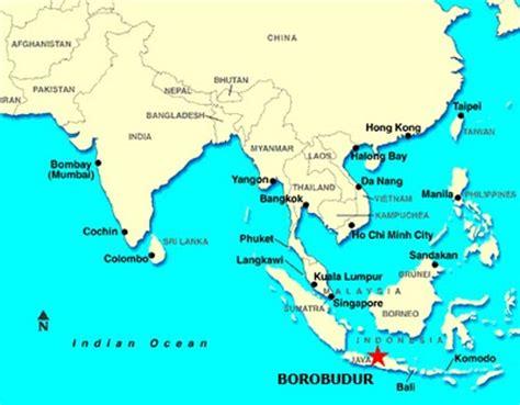 Sho Dove Di Indo tempio buddhista di borobudur indonesia
