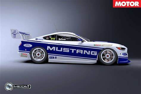 ford mustang supercar ford mustang on the supercars menu