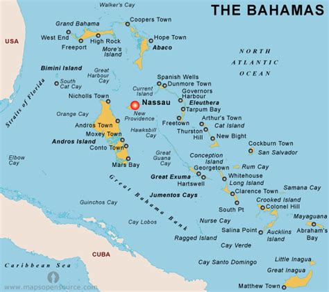 where is the bahamas on the world map free the bahamas map map of the bahamas open source