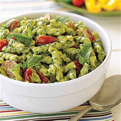 pesto pasta salad recipe summer pasta salads myrecipes