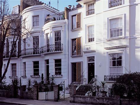 modern narrow house  london built   slot   originally  side alley