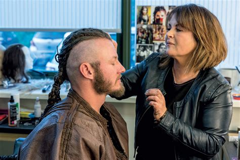 mistress cuts hair tube how the vikings braids mistress keeps the show s