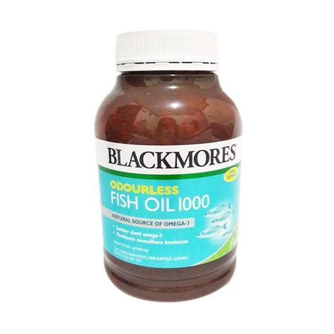 Jual Minyak Ikan Omega 3 jual blackmores odourless fish minyak ikan omega 3
