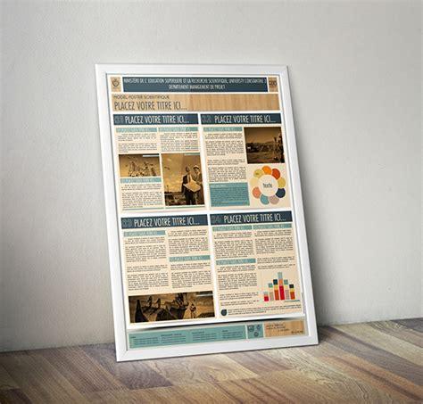 design poster a0 le poster scientifique a0 powerpoint templates on behance