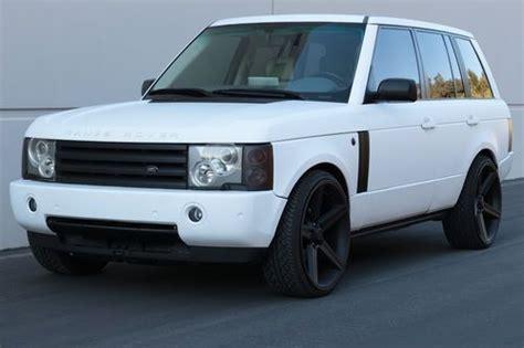matte white range rover range rover white matte www pixshark com images