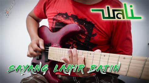 Tutorial Gitar Wali | tutorial gitar wali sayang lahir batin chord melodi by