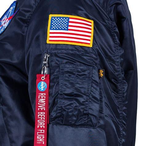 alpha industries nasa ma  flight jacket