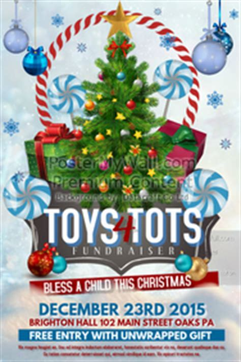Customizable Design Templates For Toys For Tots Postermywall Toys For Tots Email Template