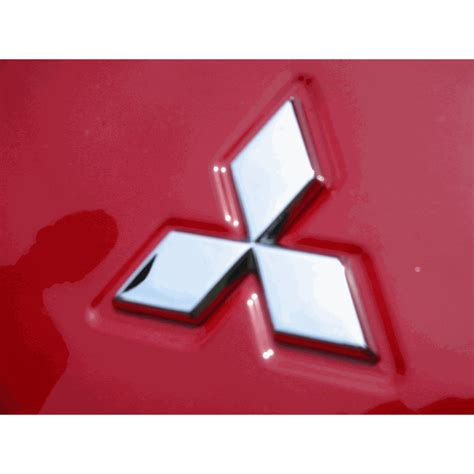 mitsubishi badge mitsubishi lancer evolution trunk badge mach v motorsports