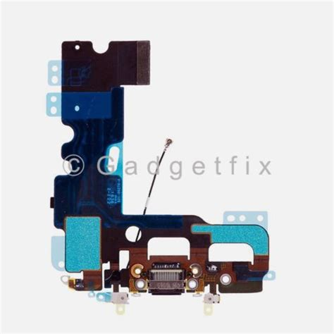 Charger Laptop Dell Ori us black iphone 7 charging charger port flex cable mic