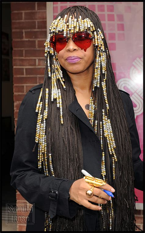beaded braid hairstyles erykah badu retro beaded braids hairstyle thirstyroots