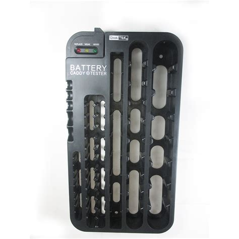 Battery Rack Organizer by 72 Battery Caddy Storage Plastic Holder Rack Organizer Removable Tester Aaa D C Ebay