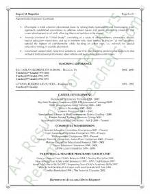 Sle Resume High School Principal High School Assistant Principal Resume Sales Assistant
