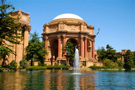 The Palace of Fine Arts, San Francisco   MissAdventure Travel