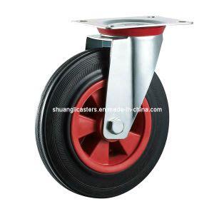 china n186 hidup base roda karet putar sr75 sr200 casters china rubber caster industrial wheel