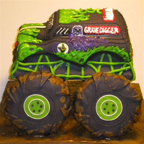 grave digger truck cake 27 best images about remyngtons 4th birthday grave
