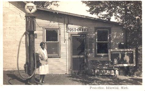 Eaton Rapids Post Office by Images Of Michigan Post Offices