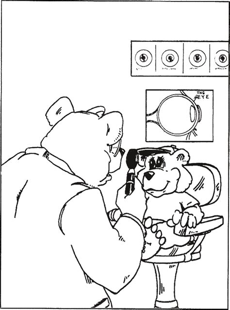 eye coloring pages for preschool optometry eye preschool coloring pages for kids free