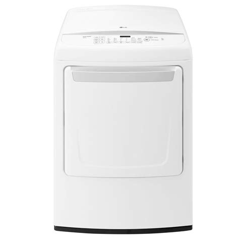 lg electronics 7 3 cu ft electric dryer with front