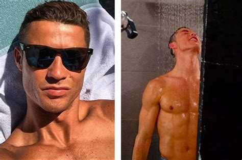 steamy bathroom cristiano ronaldo aims to break the internet with steamy