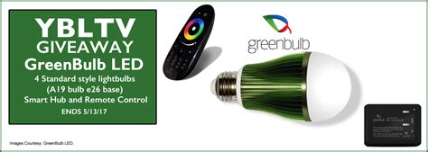 Electronics Giveaway - your smart home nightclub or bar lights up beautifully with greenbulb led ybltv