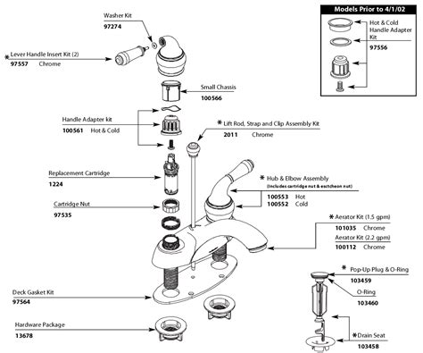 moen 84200 parts list and diagram ereplacementparts