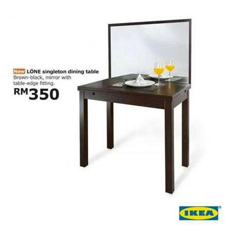 Dining Table Ikea Malaysia April Fools Joke Ikea Unveils Forever Alone Dining