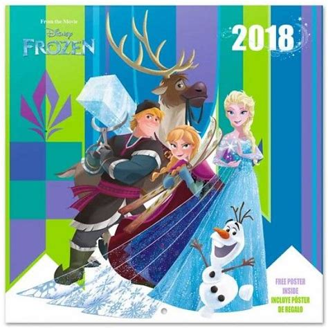 2018 disney frozen wall calendar mead frozen calendar 2018 in the wall in the wall