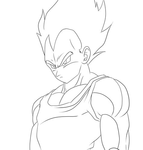 dragon ball z vegeta coloring pages vegeta coloring pages