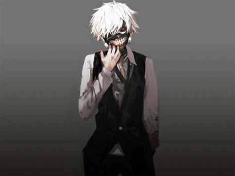 desktop wallpaper kaneki ken tokyo ghoul white hair
