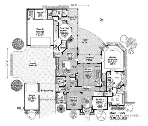 Fillmore House Plans 9913xl Fillmore Chambers Design