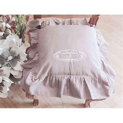 cuscini per sedie shabby chic federa cuscino sedia 2 shabby chic biancheria cucina