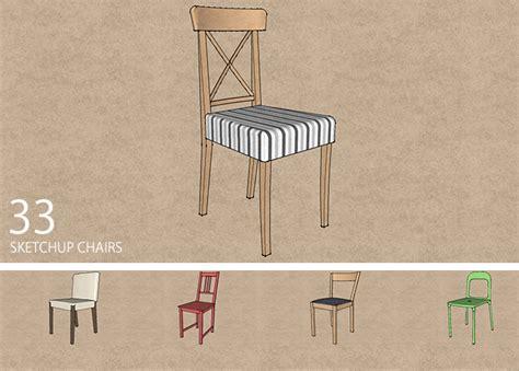 chair tutorial google sketchup 33 sketchup chair models sketchucation